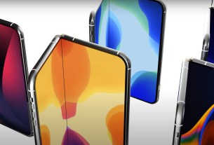 Folding iPhone