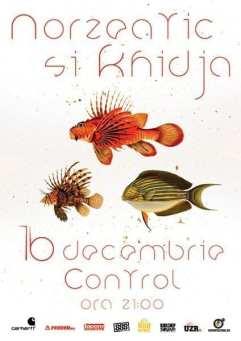 Norzeatic & Khidja @ Control