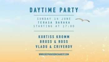 Deep House Bucharest daytime party @ Terasa Baraka