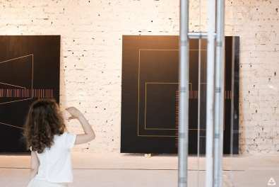 Lucian Marin - 7 works in 3 colours