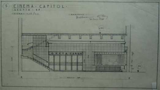 1938 Refacere fatada + aparat de intrare H. D. 2 sect long
