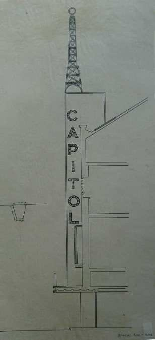 1938 Refacere fatada + aparat de intrare H. D. 5 sect detaliu