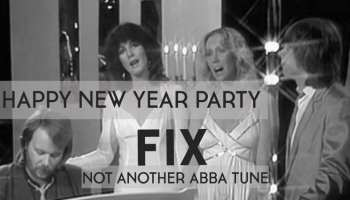 Not another ABBA tune @ FIX me a drink