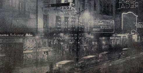 1931 Cinema Capitol bulevardul elisabeta noatpea