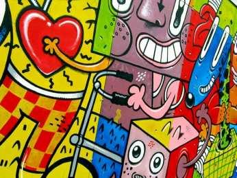 2013 Pisica Patrata mural