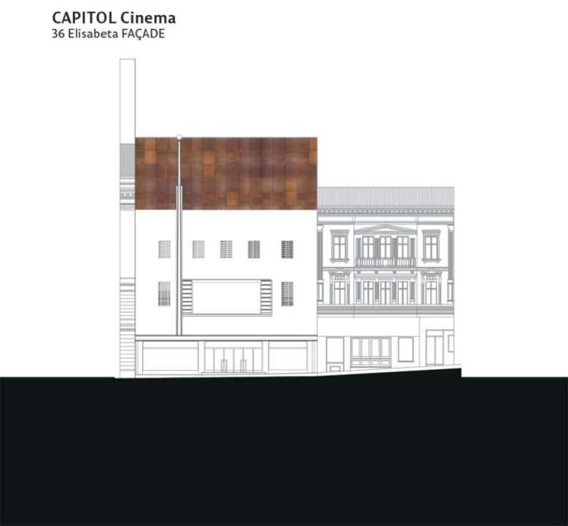Capitol fatada cinema