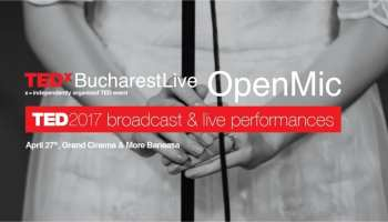 TEDxBucharest Live / Open Mic @ Grand Entertainment