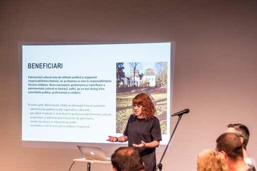 Raluca Majaru Reactivarea patrimoniului provocări și beneficii @ CNDB