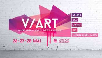 V/ART, Virtual Reality Meets Street Art - Public Exhibition