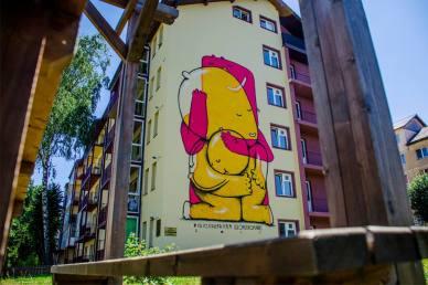 Pisica Pătrată Sibiu International Street ART Festival