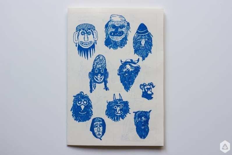 Un hidden bucharest Sorina Vazelina & Primitiv print comix