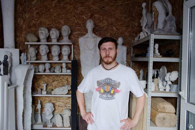 Zilele atelierelor deschise de sculptură - Alexandru Căzănaru @ Combinatul Fondului Plastic
