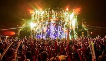 BIG David Guetta show at Ushuaïa Ibiza