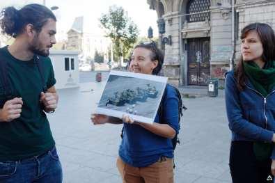 Un-hidden Bucharest street art tour 3 x Open Door Travel outside the box