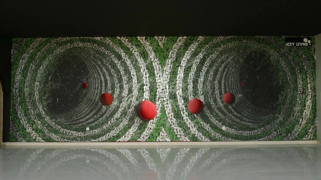 iZZY iZVNE mural