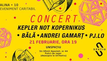 Kepler not Kopernikus / Bălă / Andrei Gamart *concert caritabil*