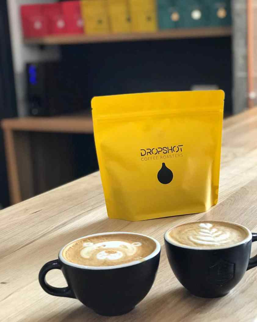DropShot Coffee Roasters milky way