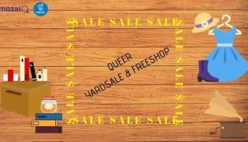 Yard sale freeshop queer