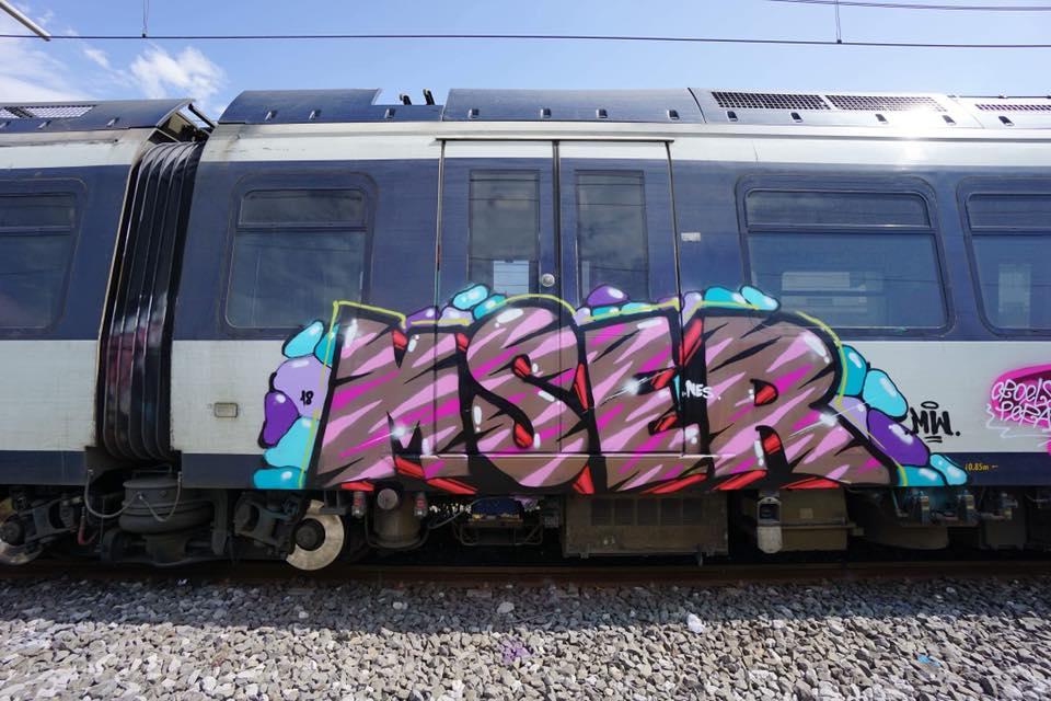 2018-Msero-Mser-graffiti-train-Napoli-Italy