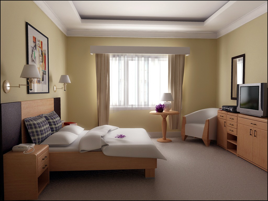 Simple Interior Design Ideas For Small Bedroom on Simple Best Bedroom Design  id=55676