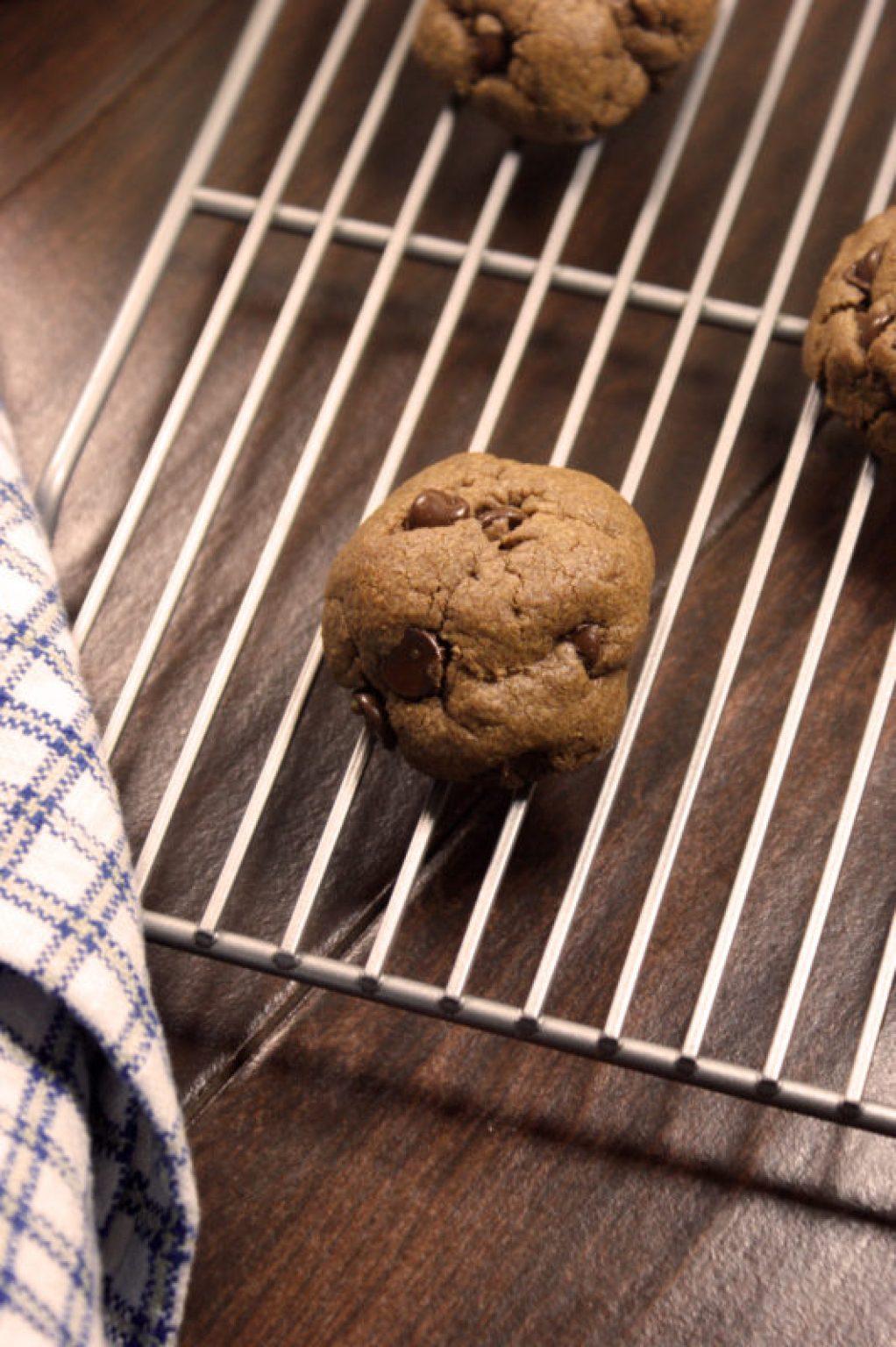 double chocolate pb cookies