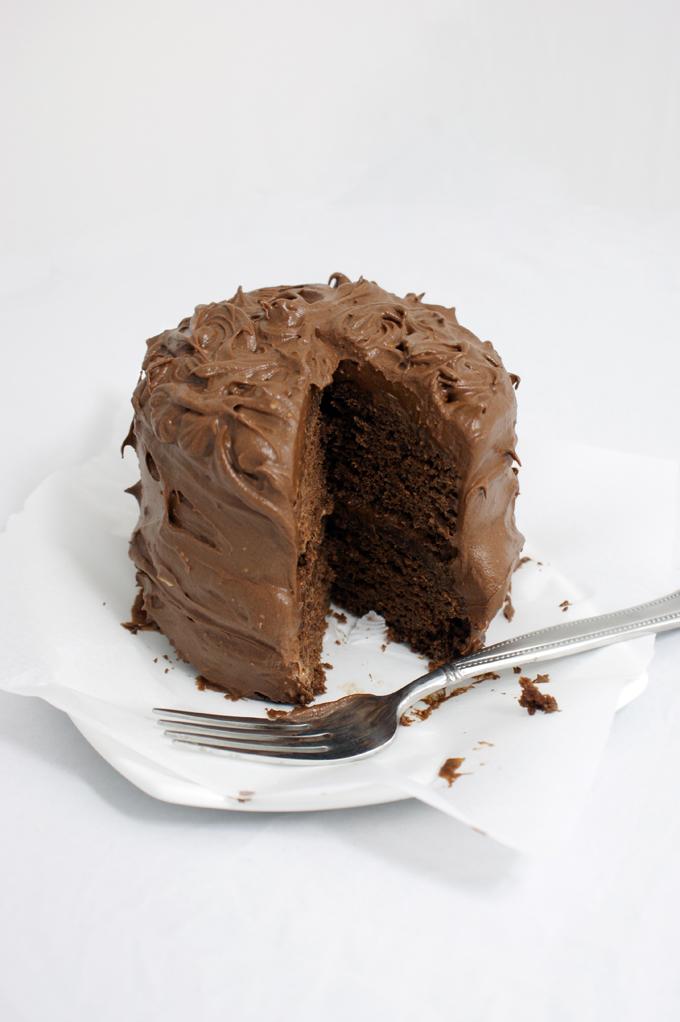 mini chocolate saucepan cakes