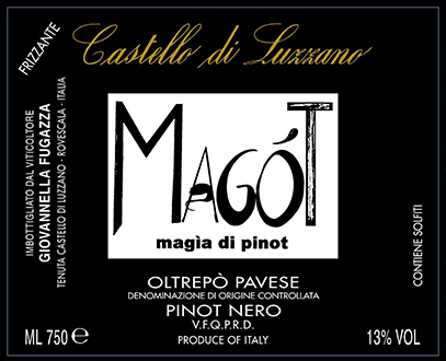 A wine label created by Giovannella's sister. I actually brough a bottle of this home in my suitcase!