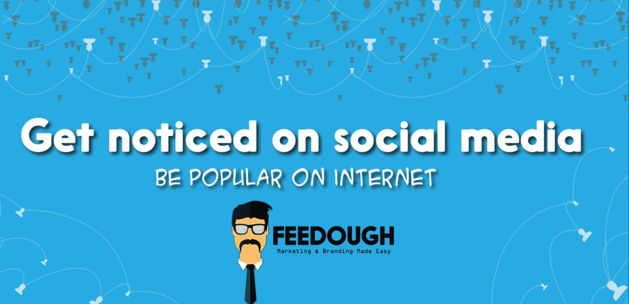 Get popular on social media