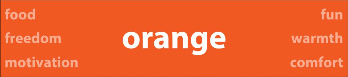 Psychology of Color Orange