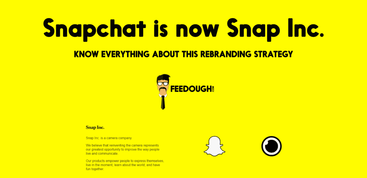 7519d29c690 Everything About Snapchat s Rebranding Strategy