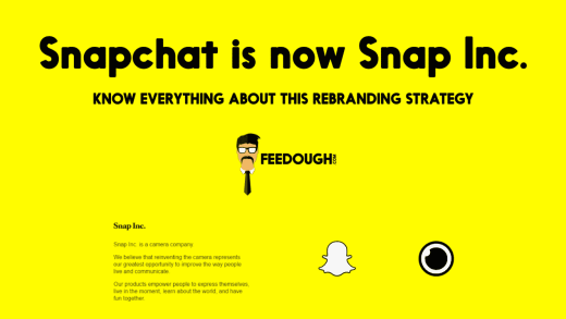 Everything About Snapchat's Rebranding Strategy | Snapchat is now Snap Inc. 1