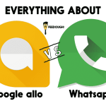 Everything about Google Allo vs Whatsapp