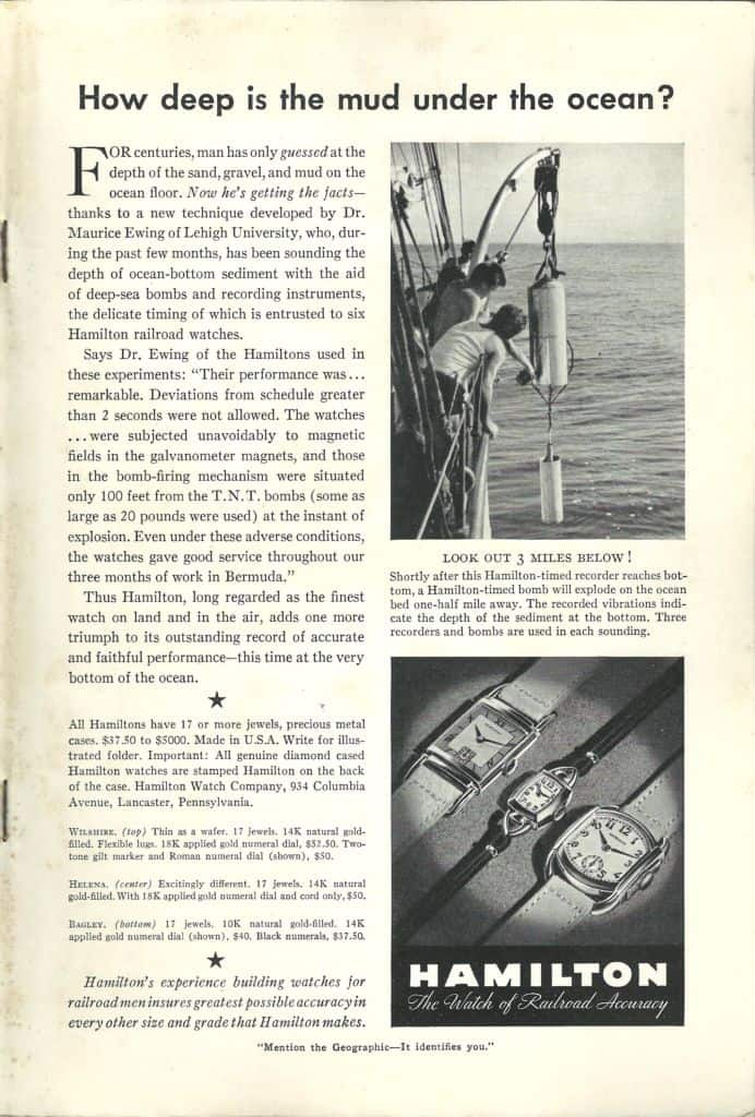 Hamilton Watches Print Advertisements Collection 1922-1974 1