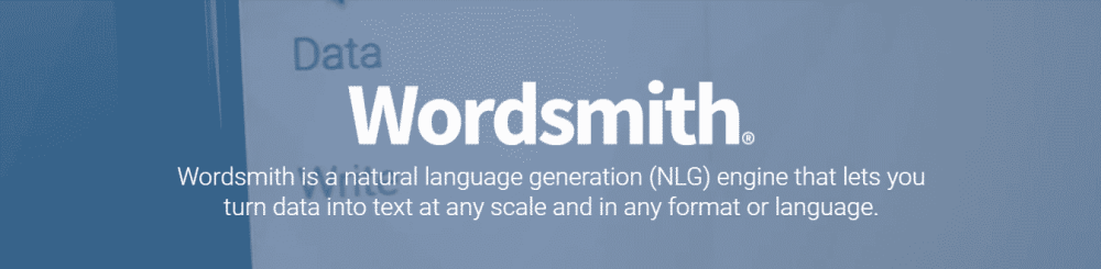 wordsmith examples of ai in marketing