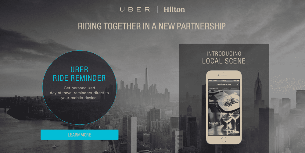 uber hamilton partnership uber business model