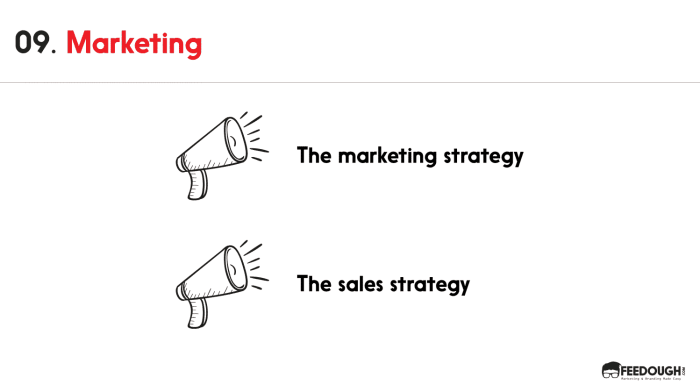 pitch deck - Marketing and sales