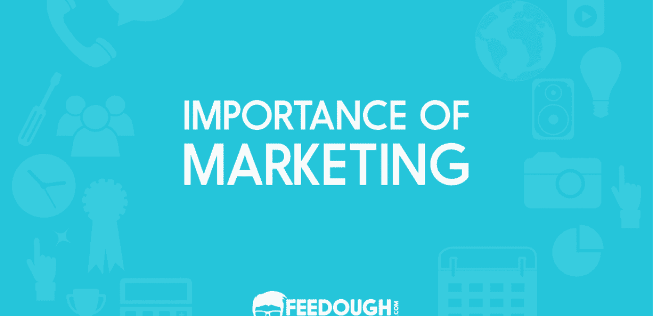 importance of marketing
