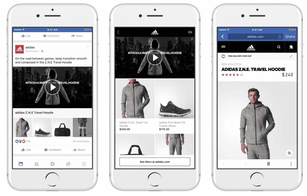 facebook social shopping ad