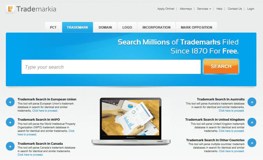 trademarkia branding tool