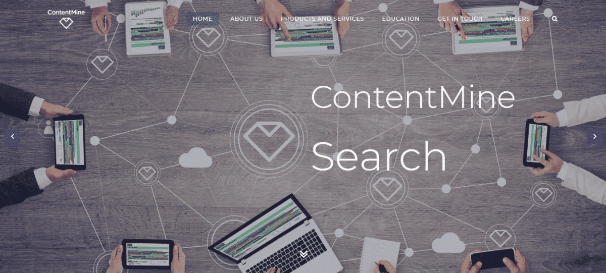 contentMine market research tool