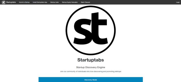 startuptabs MVP tools