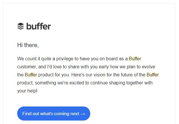 email marketing buffer interactive marketing