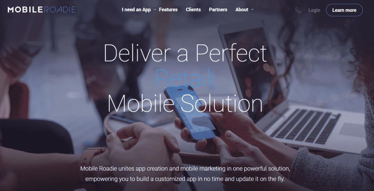 mobile roadie best app maker