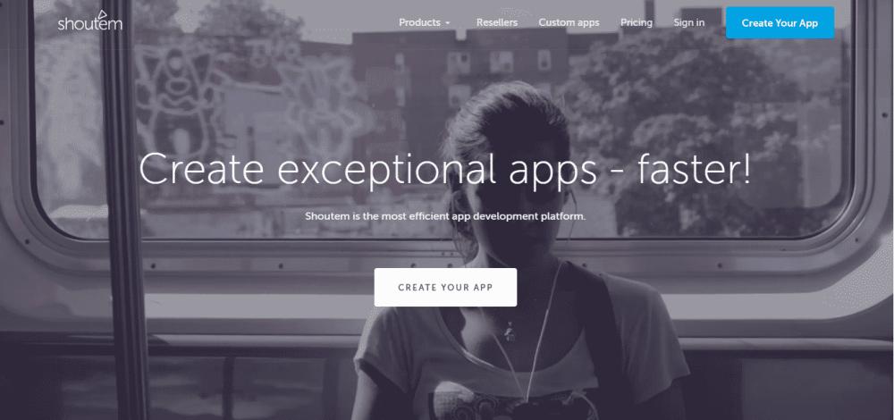 shoutem app builder