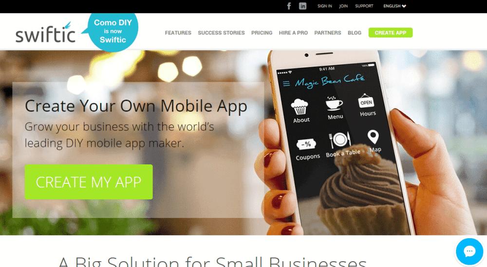 swiftic best app builder