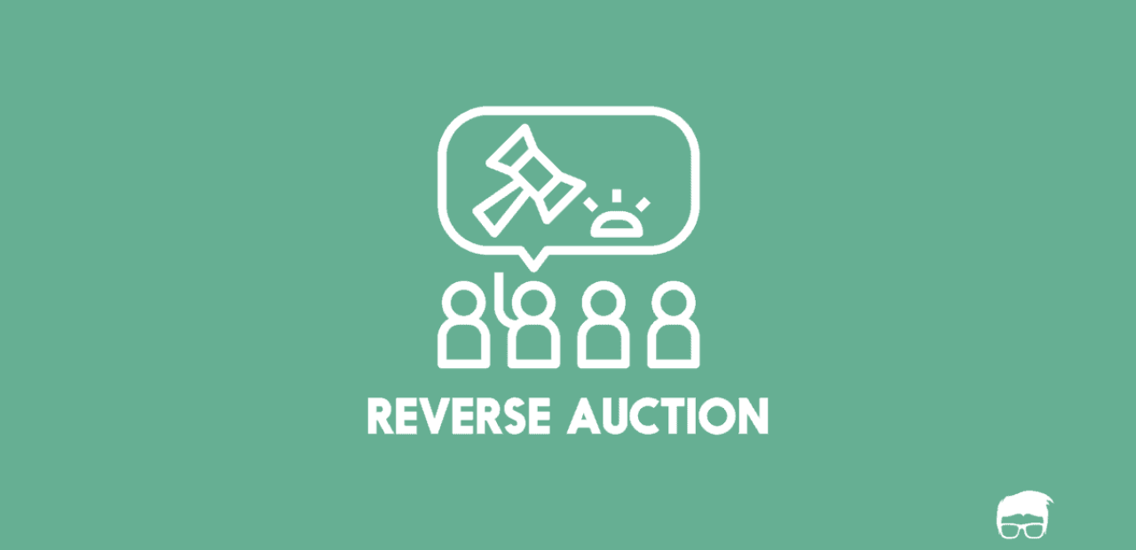 Reverse auction