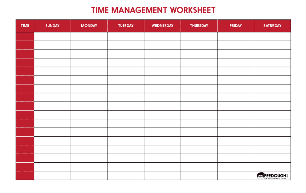 TIME-MANAGEMENT-WORKSHEET