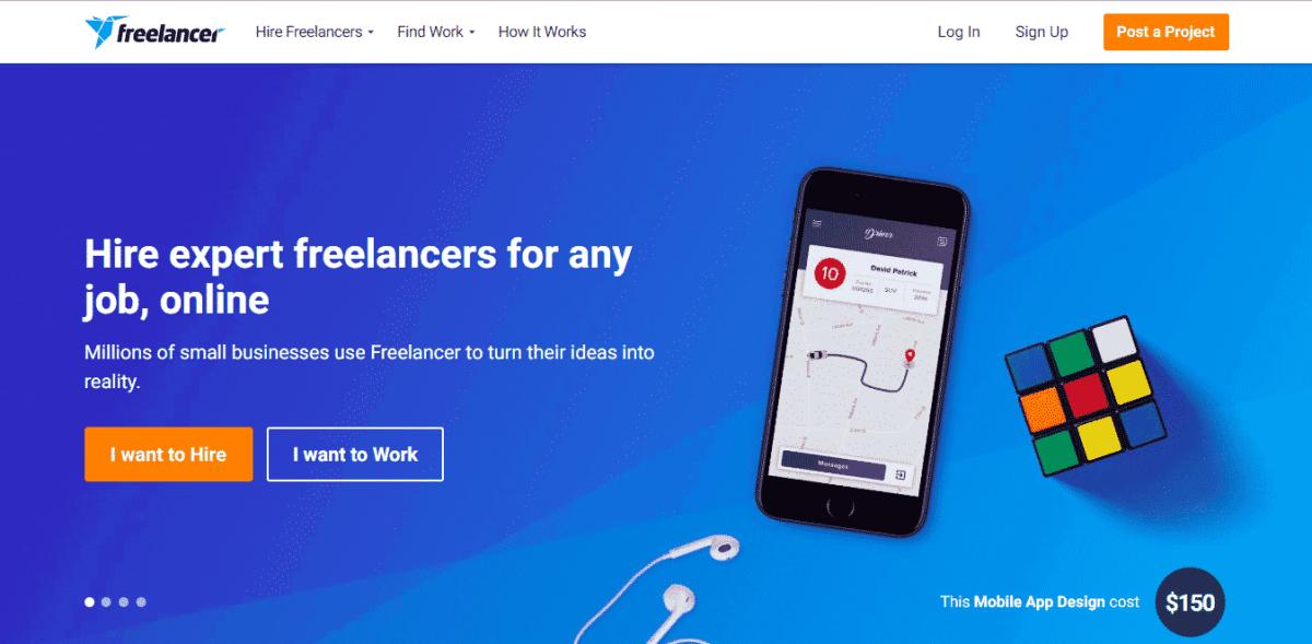 Freelancer best outsourcing website