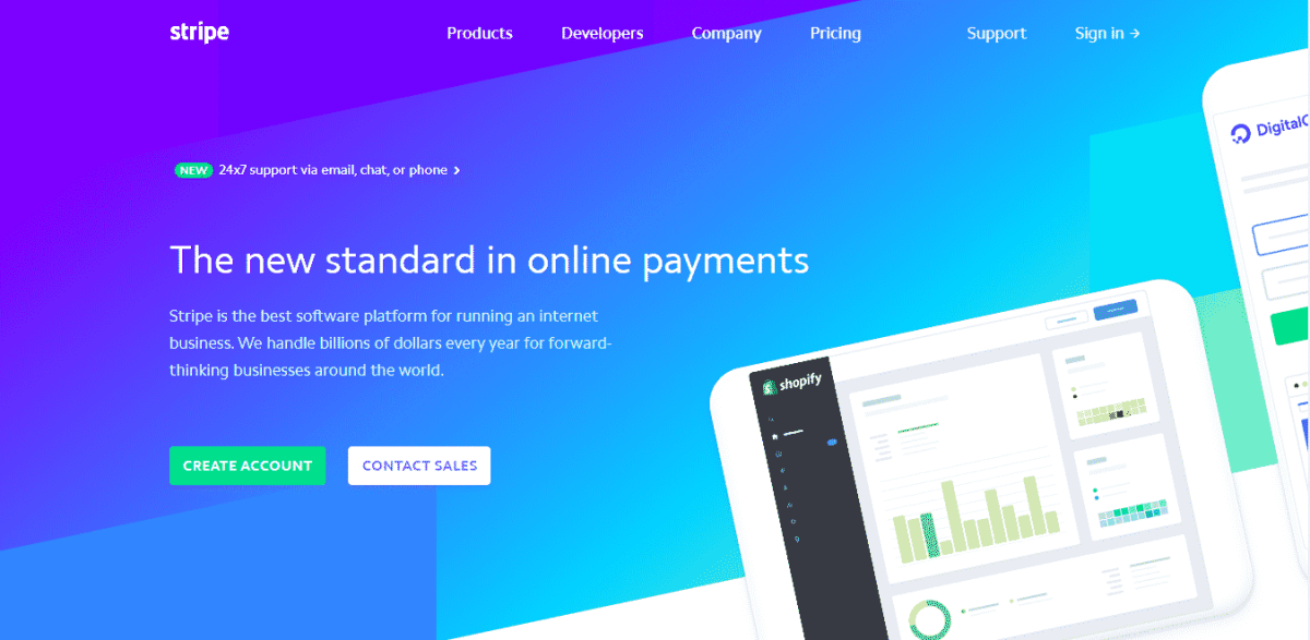 Stripe best payments gateway