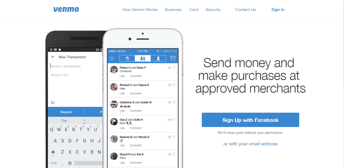 venmo best payments solution